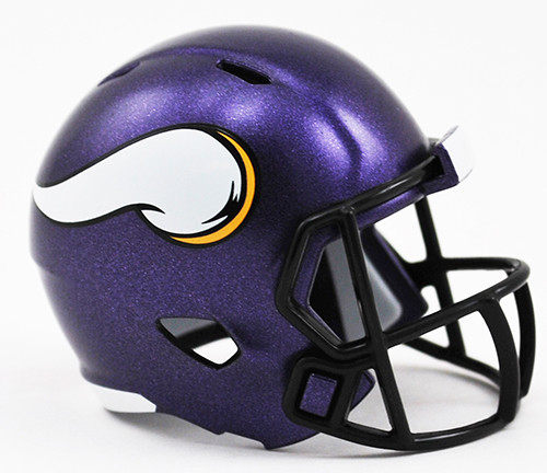 Minnesota Vikings Helmet Riddell Pocket Pro Speed Style