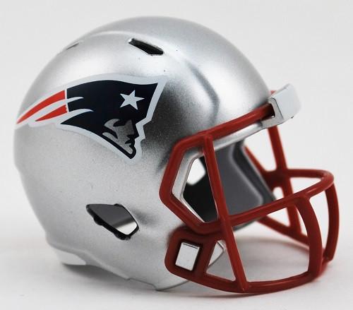 New England Patriots Helmet Riddell Pocket Pro Speed Style