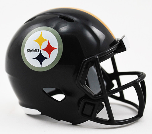 Pittsburgh Steelers Helmet Riddell Pocket Pro Speed Style
