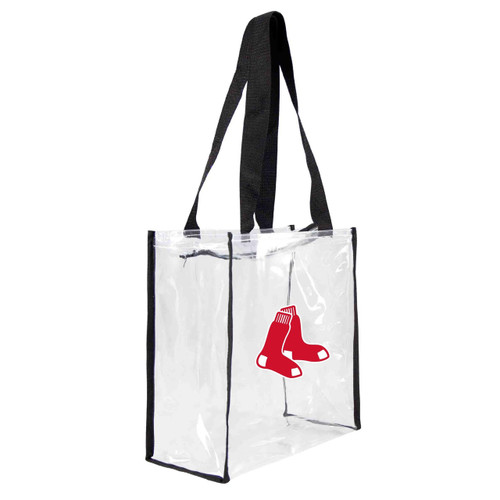 Boston Red Sox Clear Square Stadium Tote - Special Order