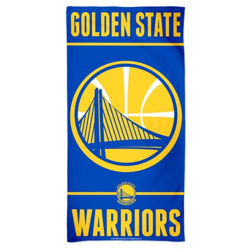 Golden State Warriors Towel 30x60 Beach Style