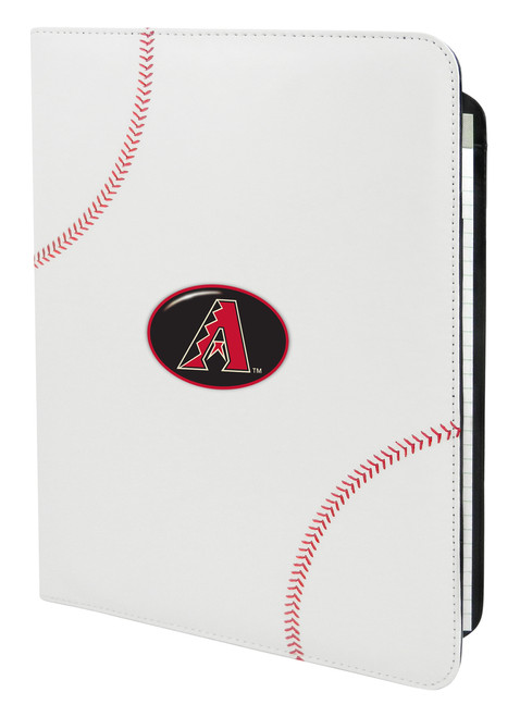 Arizona Diamondbacks A Logo Classic Baseball Portfolio - 8.5 in x 11 in