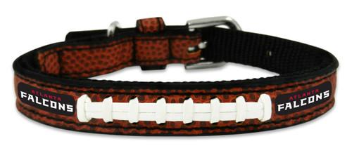 Atlanta Falcons Pet Collar Leather Classic Football Size Toy CO