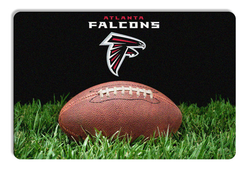 Atlanta Falcons Classic NFL Football Pet Bowl Mat - L