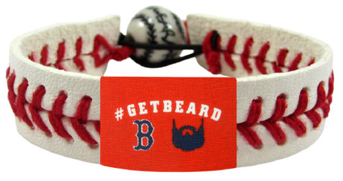 Boston Red Sox GetBeard Classic Baseball Bracelet