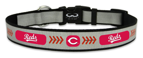Cincinnati Reds Reflective Large Baseball Collar