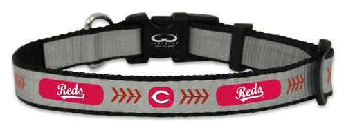 Cincinnati Reds Reflective Toy Baseball Collar