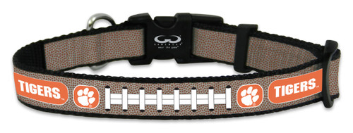 Clemson Tigers Reflective Toy Football Collar