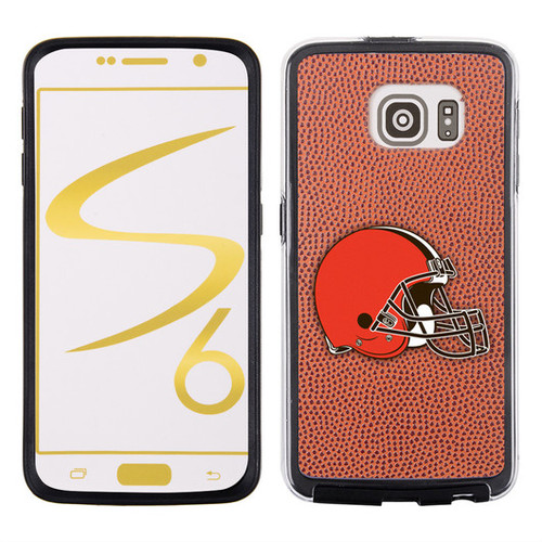 Cleveland Browns Phone Case Classic Football Pebble Grain Feel Samsung Galaxy S6