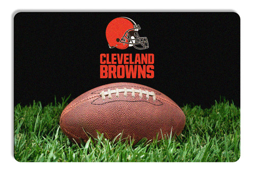Cleveland Browns Pet Bowl Mat Classic Football Size Large