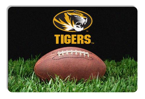 Missouri Tigers Classic Football Pet Bowl Mat - L  CO