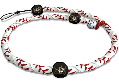 Missouri Tigers Necklace Frozen Rope Classic Baseball CO