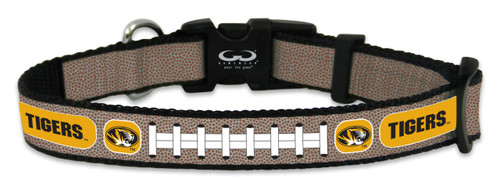 Missouri Tigers Reflective Toy Football Collar