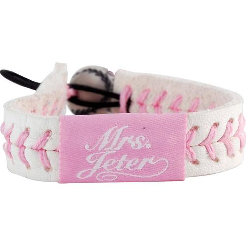 Mrs. Jeter/ New York Yankees Pink Jersey Bracelet