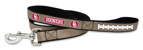 Oklahoma Sooners Reflective Football Leash - S