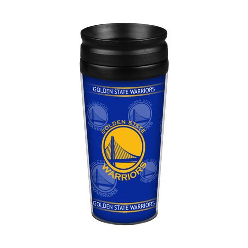 Golden State Warriors 14oz. Full Wrap Travel Mug