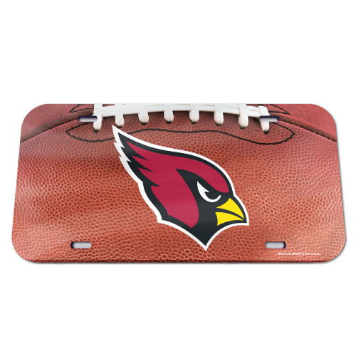 Arizona Cardinals License Plate - Crystal Mirror - Football