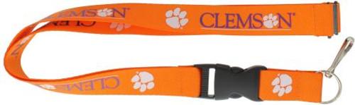 Clemson Tigers Lanyard Orange