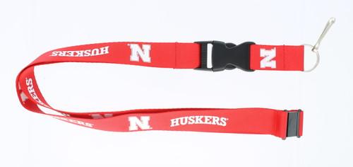 Nebraska Cornhuskers Lanyard Red