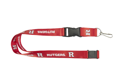 Rutgers Scarlet Knights Lanyard Red - Special Order