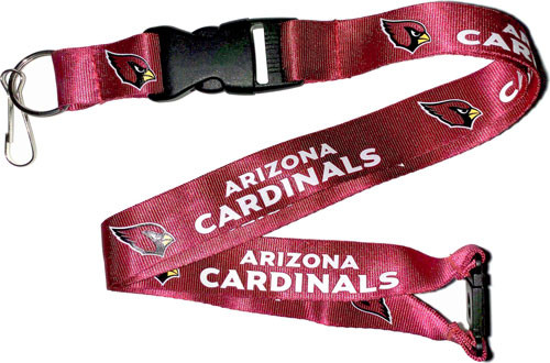 Arizona Cardinals Lanyard Red