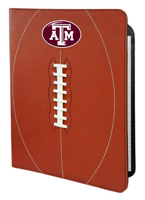 Texas A&M Aggies Classic Football Portfolio - 8.5 in x 11 in