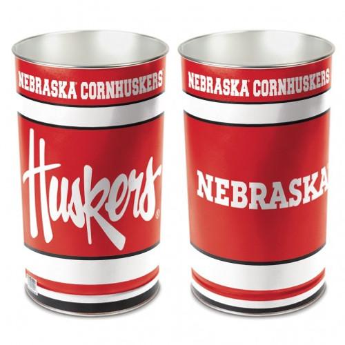Nebraska Cornhuskers Wastebasket 15 Inch