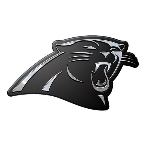 Carolina Panthers Auto Emblem Premium Metal