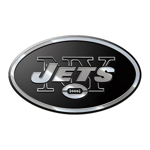 New York Jets Auto Emblem Premium Metal