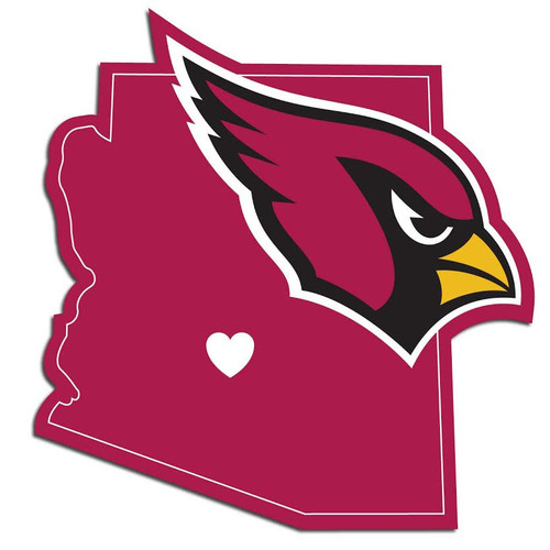 Arizona Cardinals Decal Home State Pride - Special Order