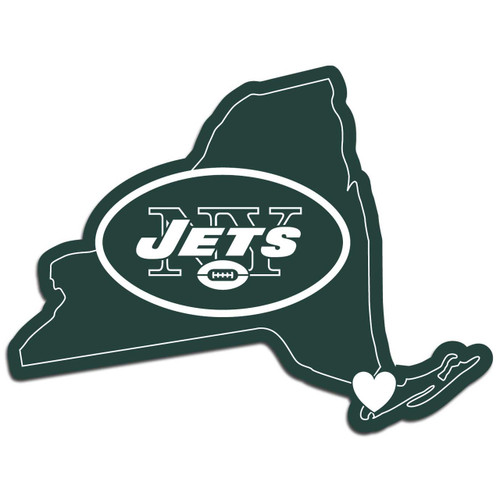 New York Jets Decal Home State Pride