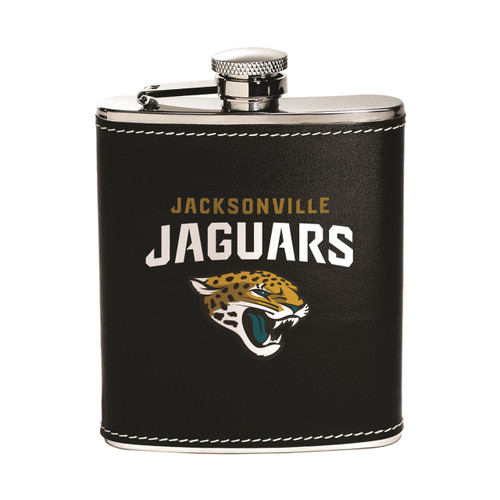 Jacksonville Jaguars Flask - Stainless Steel