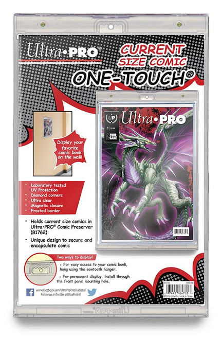 One Touch UV Comic Holder with Magnet Closure- Current
