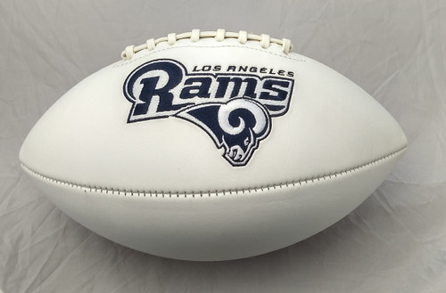 Los Angeles Rams Football Full Size Embroidered Signature Series
