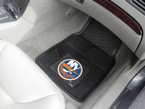 New York Islanders Heavy Duty 2-Piece Vinyl Car Mats - Special Order