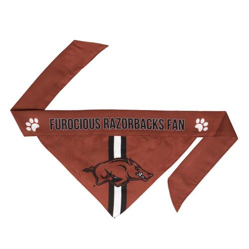 Arkansas Razorbacks Pet Bandanna Size M - Special Order