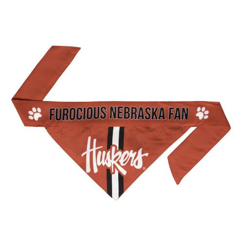Nebraska Cornhuskers Pet Bandanna Size M