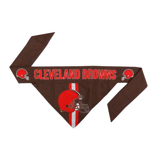 Cleveland Browns Pet Bandanna Size XS
