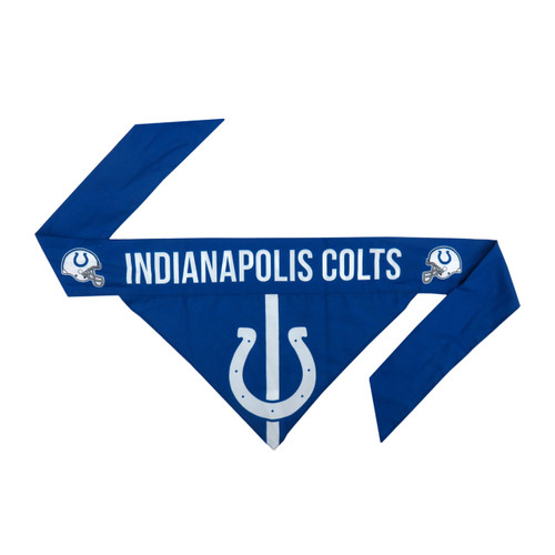 Indianapolis Colts Pet Bandanna Size XS - Special Order