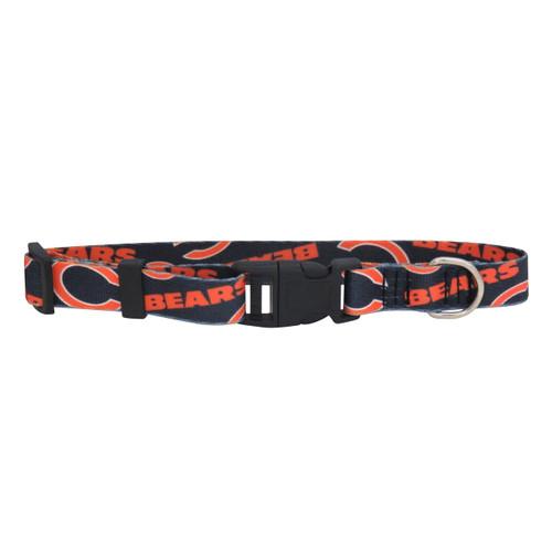Chicago Bears Pet Collar Size M