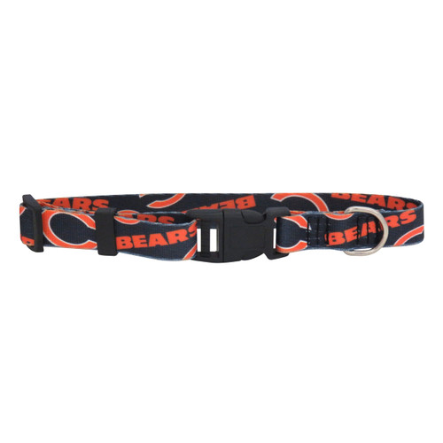 Chicago Bears Pet Collar Size S - Special Order
