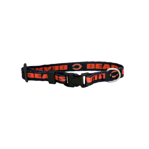 Chicago Bears Pet Collar Size XS