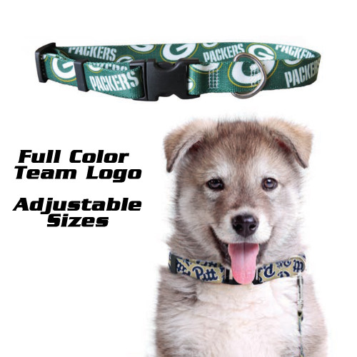 Cleveland Browns Pet Collar Size L - Special Order