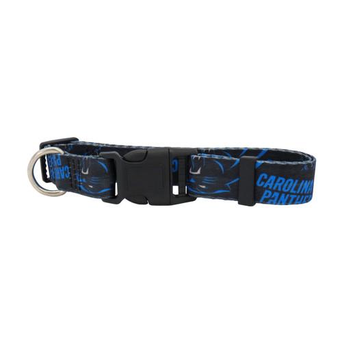Carolina Panthers Pet Collar Size M - Special Order