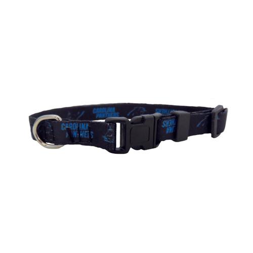 Carolina Panthers Pet Collar Size XS