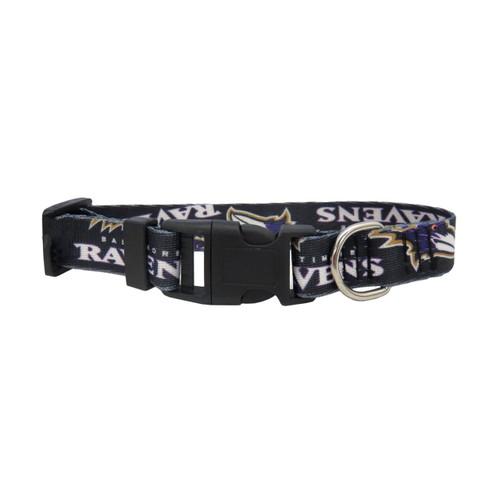Baltimore Ravens Pet Collar Size M