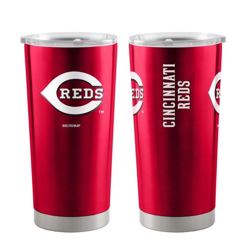 Cincinnati Reds Travel Tumbler 20oz Ultra Red