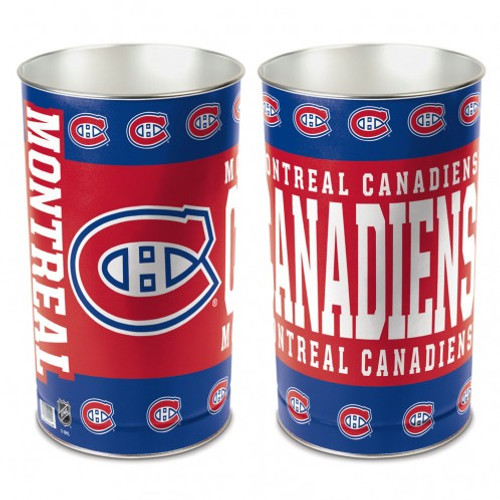 Montreal Canadiens Wastebasket 15 Inch