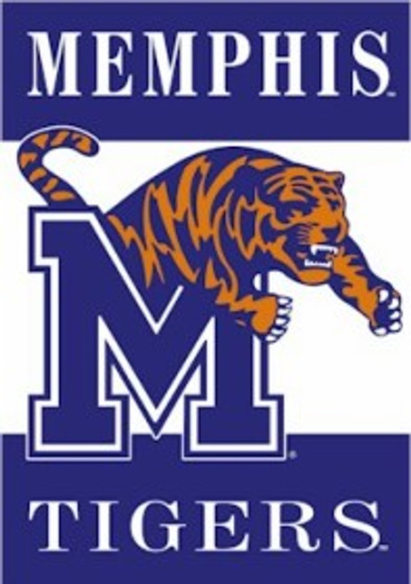 Memphis Tigers Banner 28x40 2 Sided - Special Order