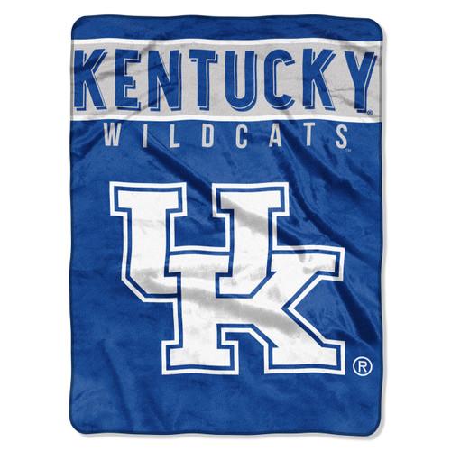Kentucky Wildcats Blanket 60x80 Raschel Basic Design
